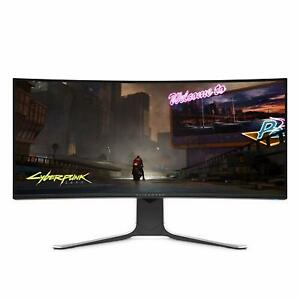 NEW-Dell-Alienware-NEW-Curved-34-Inch-WQHD-3440-X-1440-120Hz-Monitor-IPS-LED