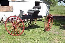 Horse Drawn Buggy Carriage Wagon Sleigh Cart
