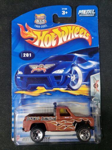 Hot Wheels Final Run 7//12 2003 #201 Bywayman Damaged Blister