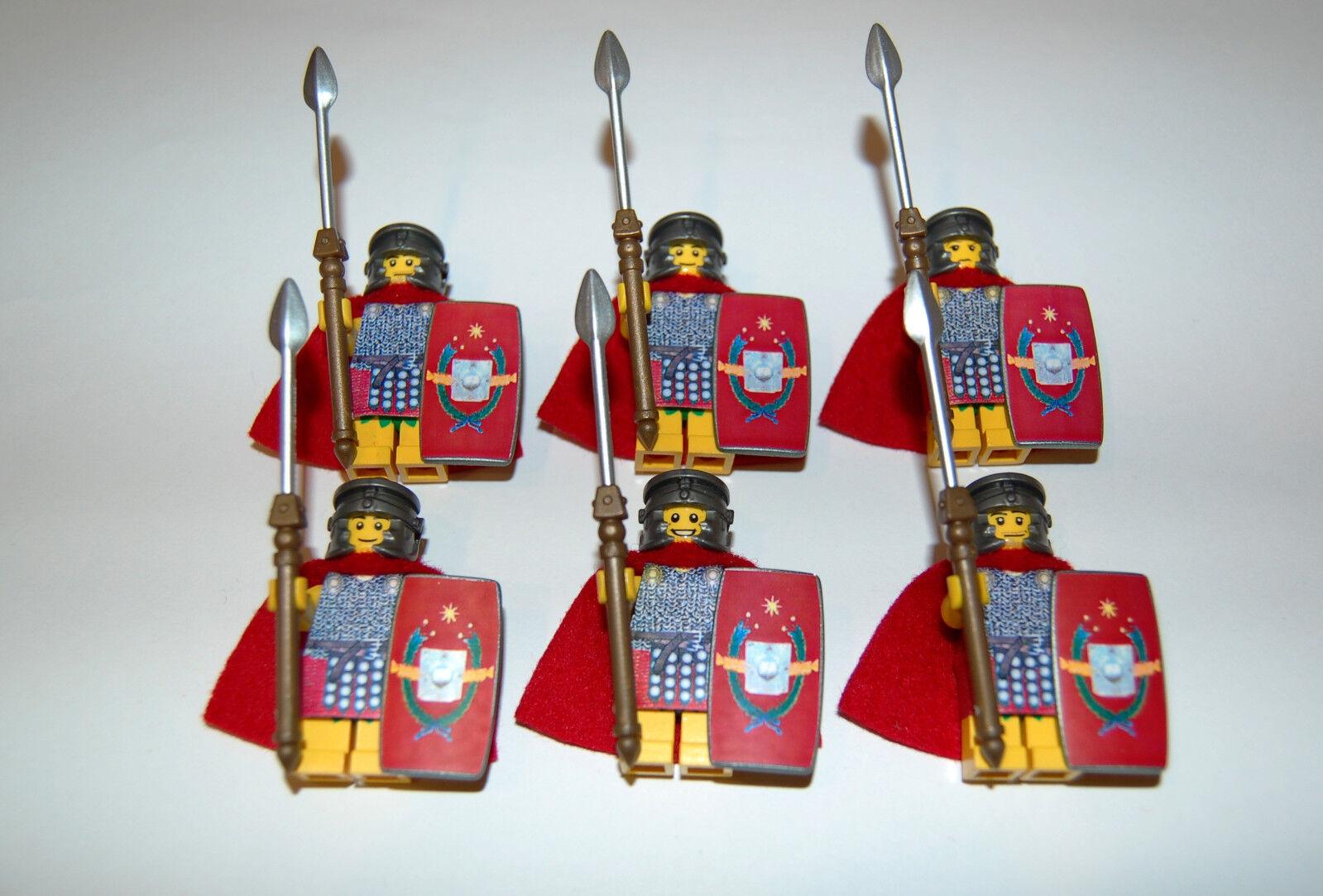 Custom Figuren Römer Legionär Set 8 aus LEGO® Figuren Teilen Teilen Teilen c6f19f