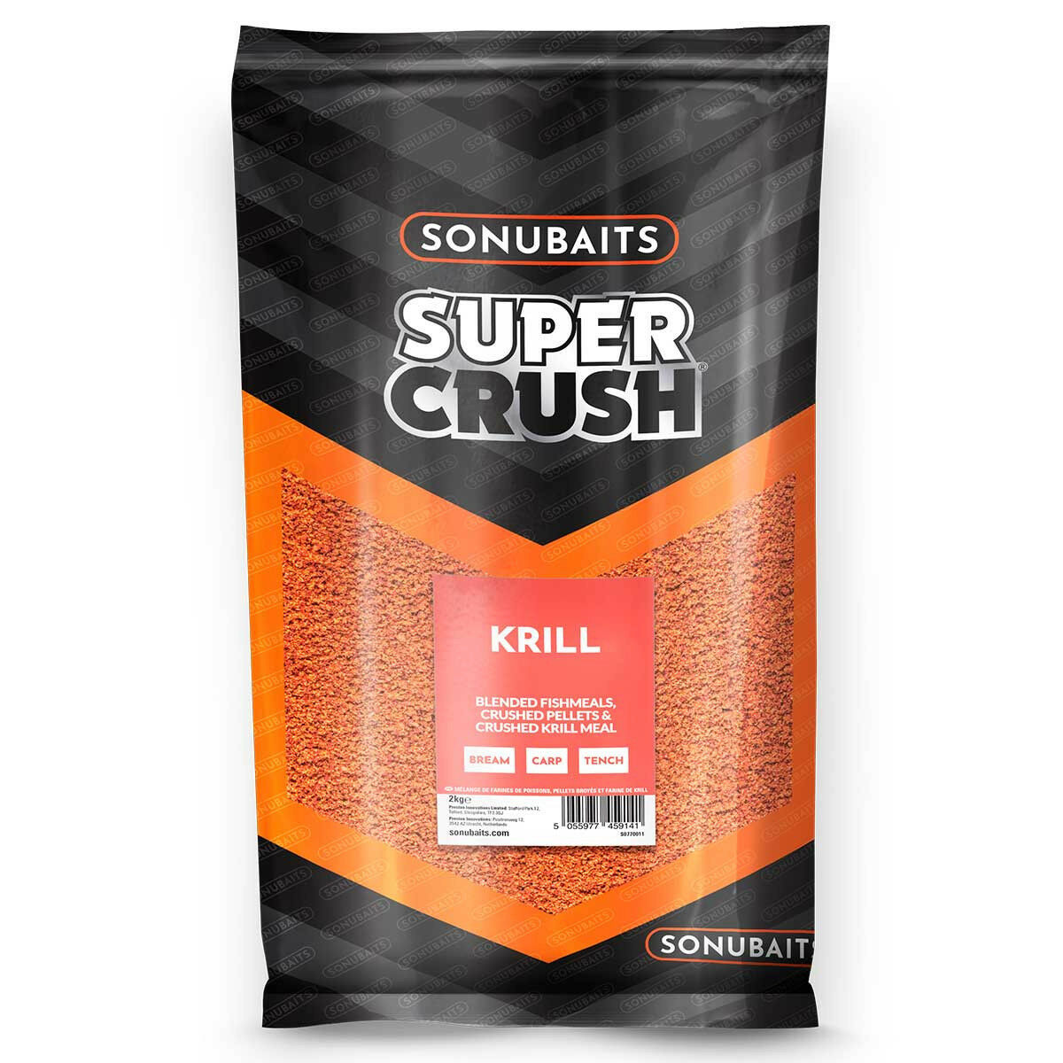 Sonubaits Supercrush Krill Groundbait 10kg