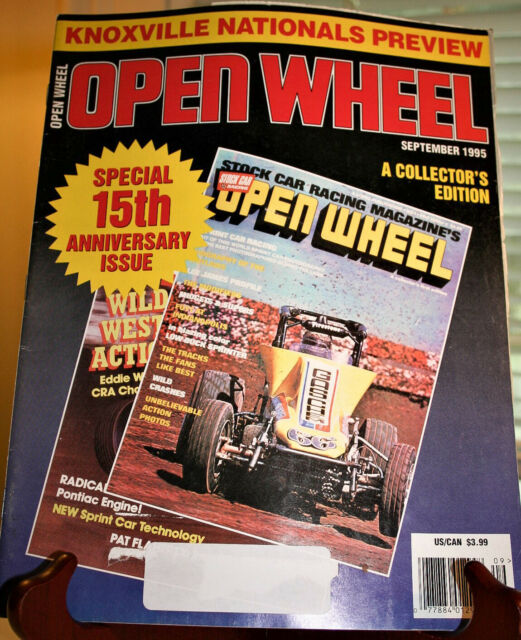OPEN WHEEL Magazine September 1995 Knoxville Nationals Preview