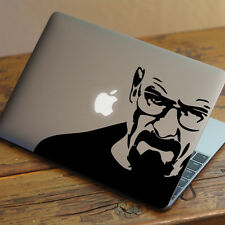 "BREAKING BAD WALTER Apple MacBook Decal Sticker fits 11"" 13"" 15"" and 17"" models"