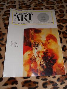 Journal - L'amateur D'art N° 588, 16/09/1976 - Dessins Parisiens Du Xixe, ...