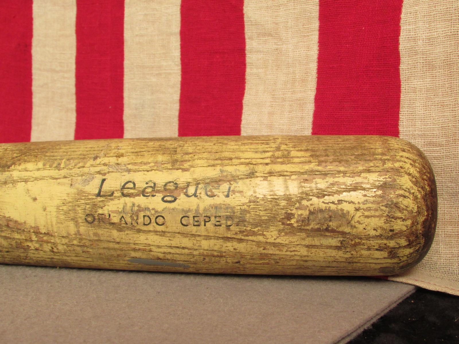 Vintage Sears Holz Baseball Schläger 1718 1718 1718 Leaguer Orlando Cepeda Modell 34   8dd812