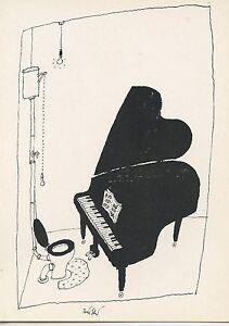 DESSSIN D/'HUMOUR 1974 AVIGNON CARTE POSTALE ILLUSTRATEUR GERALD SCARFE