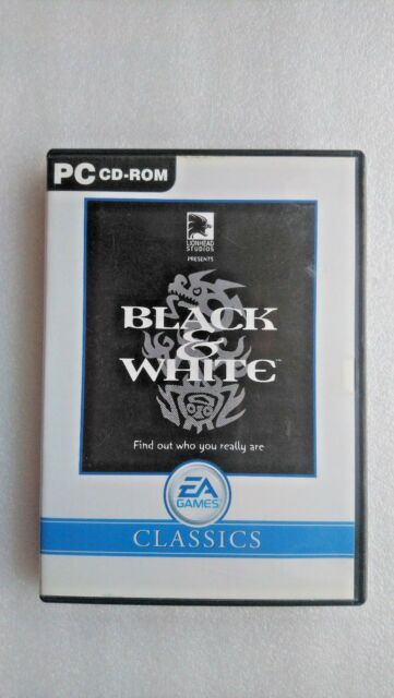 Black and White (PC Windows 2001)...Classic Edition