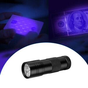 violet UV Ultra LED Flashlight Blacklight Light 395 nM Inspection Lamp Torch