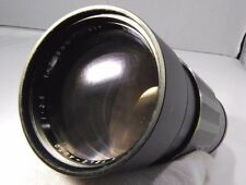 Used Soligor 200mm f3.5 non-AI for Nikon lens manual focus  (SN 12103461)