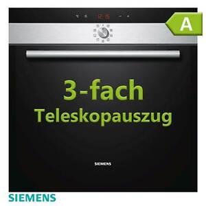 Pyrolyse Backofen Selbstreinigung Edelstahl Einbau Siemens