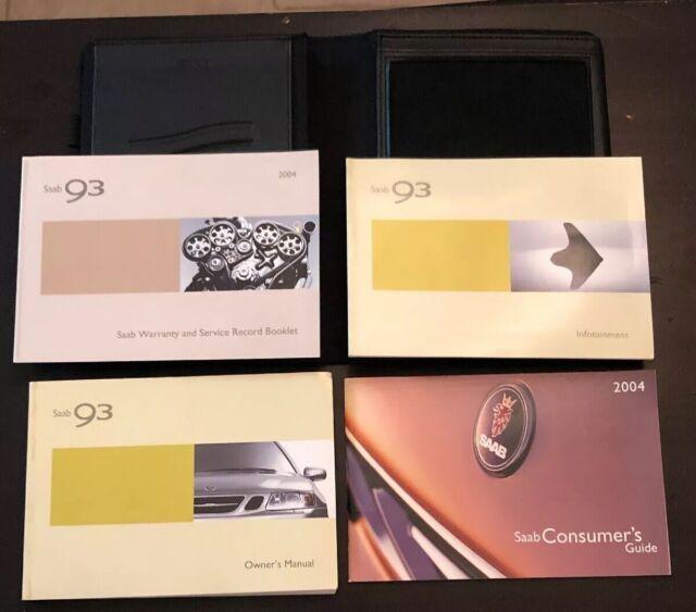 12756423 Genuine Saab Manual Guide