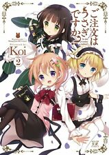 Japan Is The Order a Rabbit? / Gochumon WA Usagi Desu Ka? 2 Koi Manga Book