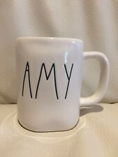 New Rae Dunn Artisan Collection By Magenta AMY Coffee Tea Mug Farmhouse LL HTF