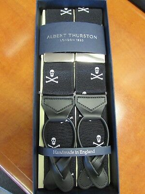 Albert Thurston 2 in 1 Braces 35mm Wide Made in England