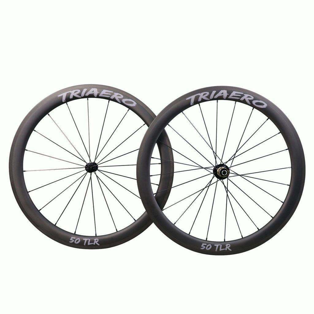 Full Carbon Fiber T700 Aero 700C  Road Bike Wheelset 50mm Deep 25mm Wide Clincher  here has the latest