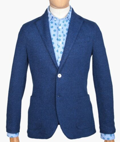 Blazer Rrp giacca Eu blu Cn1930 Uk texana 1901 Taglia Circolo £ 44 54 389 wUYAwaq