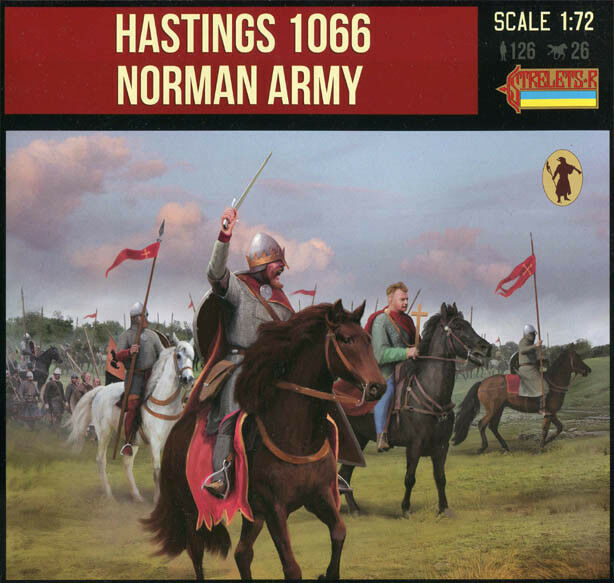 STRELETS MINIATURES 1 72 – 911 Hastings 1066  Norman Army - sold out catalog