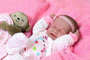 Crying-American-Reborn-Baby-Girl-Doll-Vinyl-Silicone-Newborn-Preemie-Life-like