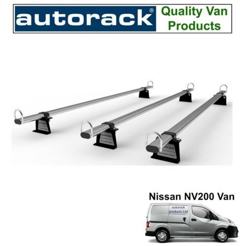 Roof Rack for NISSAN NV200 NV-200-3 Roof Bars Autorack WorkReady Ladder Bars