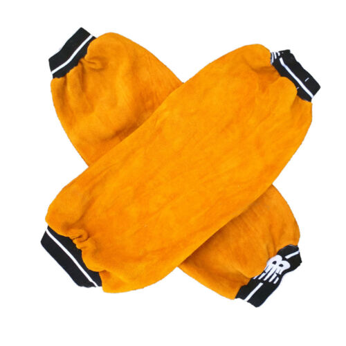 Heat insulation Protection Safty Sleeve Welding Leather Protect Oversleeve