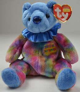 c33aa34cf38 Ty The Beanie Babies Collection September Bear 7.5