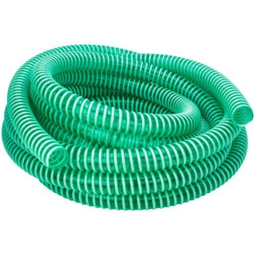 AWM 15m Saugschlauch 38//32 Grün Spiralschlauch Druckschlauch PVC 1 1//4 Zoll