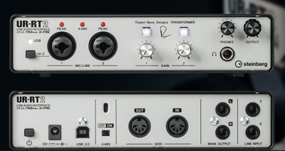 Audio/midi Interfaces Sweet-Tempered Steinberg Ur-rt2 Interface Keep You Fit All The Time