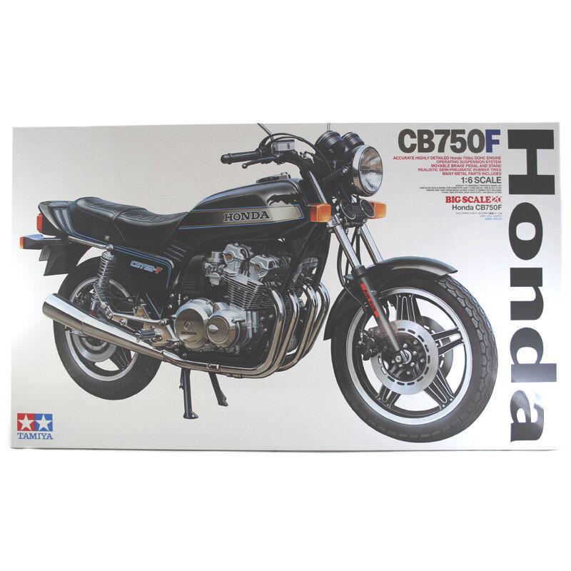 Tamiya Honda CB750F Bike Motorcyle Model Set (Scale 1 6) 16020 NEW