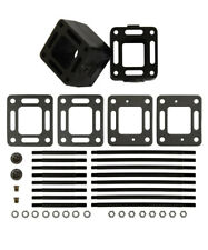MerCruiser 3 inch Exhaust manifold Riser spacer kit mc2093320a3 3320 93320a13 3/""