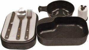 Mess kit camping chow set 9 piece plus p38 bugout survival