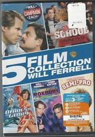 Campaign/ Old School/ Blades Of Glory/ Semi-pro/ Night At Roxbury (dvd, 5-films)