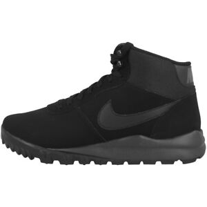 Details about Nike Hoodland Suede Boots Shoes Winter Trekking Hiking Boots Black 654888 090 show original title