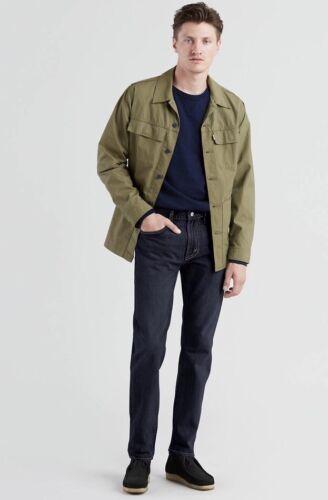 LEVI'S 502 Regular Taper Jeans Dark Hollow Stretch Herren Hose 295070036 #L09
