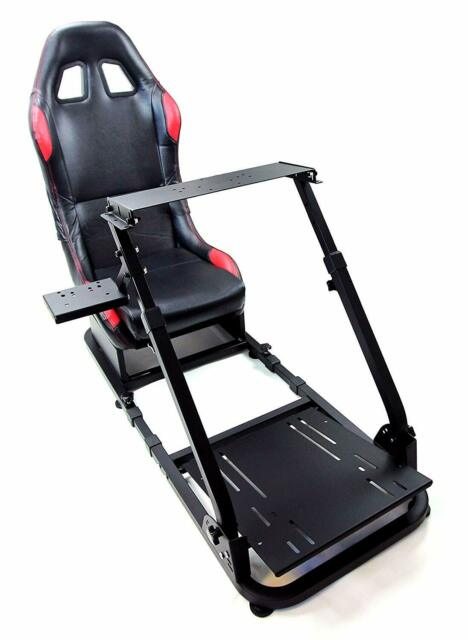 Racing Simulator Cockpit Gaming Chair with Gear Shifter Mount and Racing  Chair