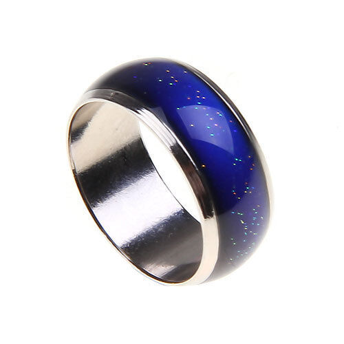 3pcs Emotion Feeling Mood Color Changeable Ring With Color Changing Chart