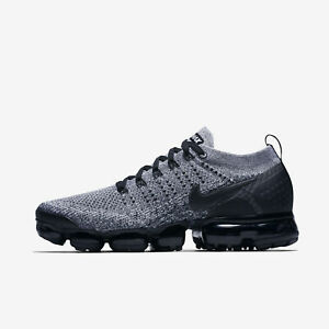 meet 37508 fa8e7 Details about Nike Air Vapormax Flyknit 2 size 11 Cookie and Cream Oreo  Black White 942842-107