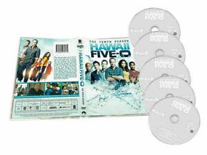 Hawaii-Five-O-The-tenth-Season-10-DVD-2019-5-Disc-Set-New-Sealed