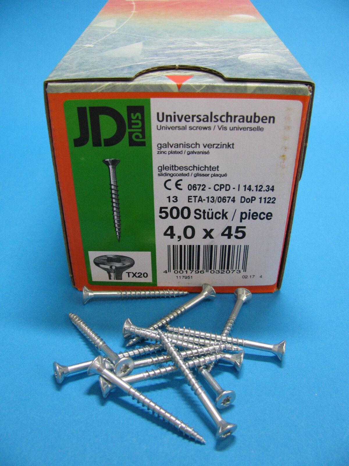 Holzschrauben,Spanplattenschrauben JD plus I Stern keine,Spax, Universalschraube