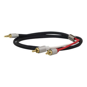 Dynavox-Stereo-Audio-Cable-Jack-0-1-8in-On-Rca-Cinch-Length-16-5-12ft