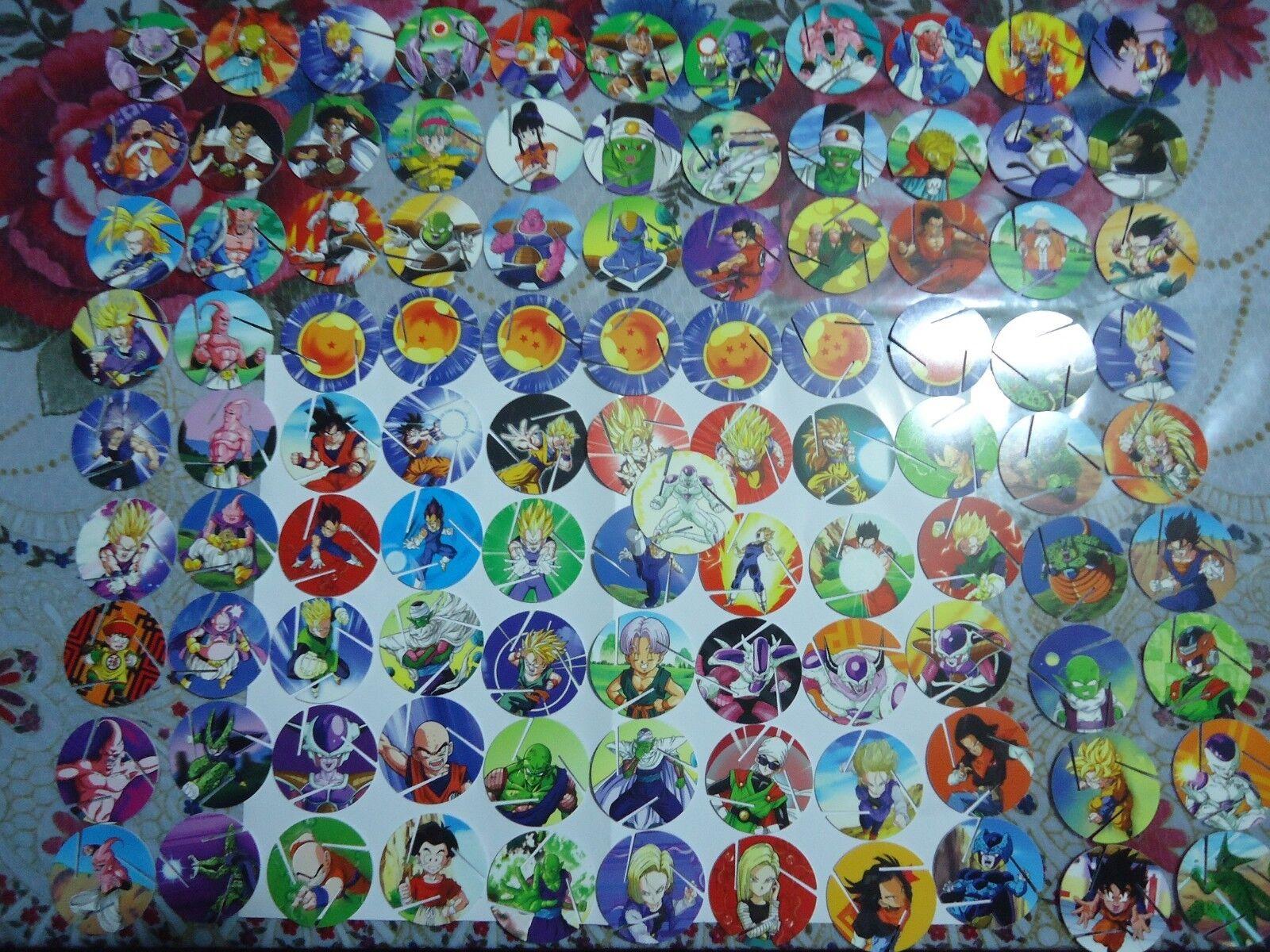 mejor precio Colección completa de 100 Tazos De Dragon Ball Z De De De Tazos México 2018  tomamos a los clientes como nuestro dios