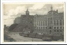 Gothenburg Navigation School & Herziahuset RP  PPC 1936, Rolling Stock in Front