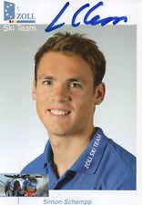 Autogramm - Simon Schempp (Biathlon)