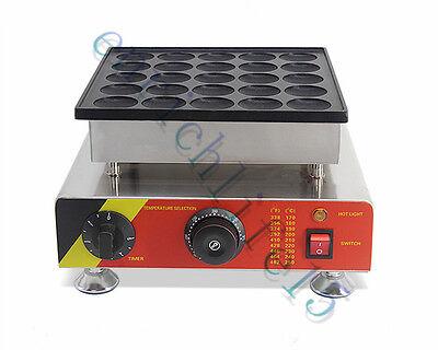 25hole Commercial Electric Poffertje Mini Dutch Pancake Machine Maker Iron Baker
