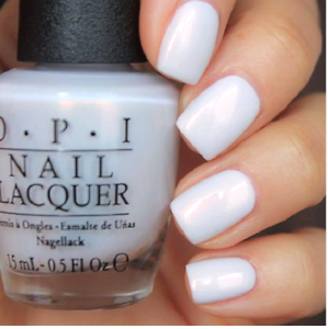 Image Is Loading Opi Alice Oh My Majesty White Alabaster Pearl