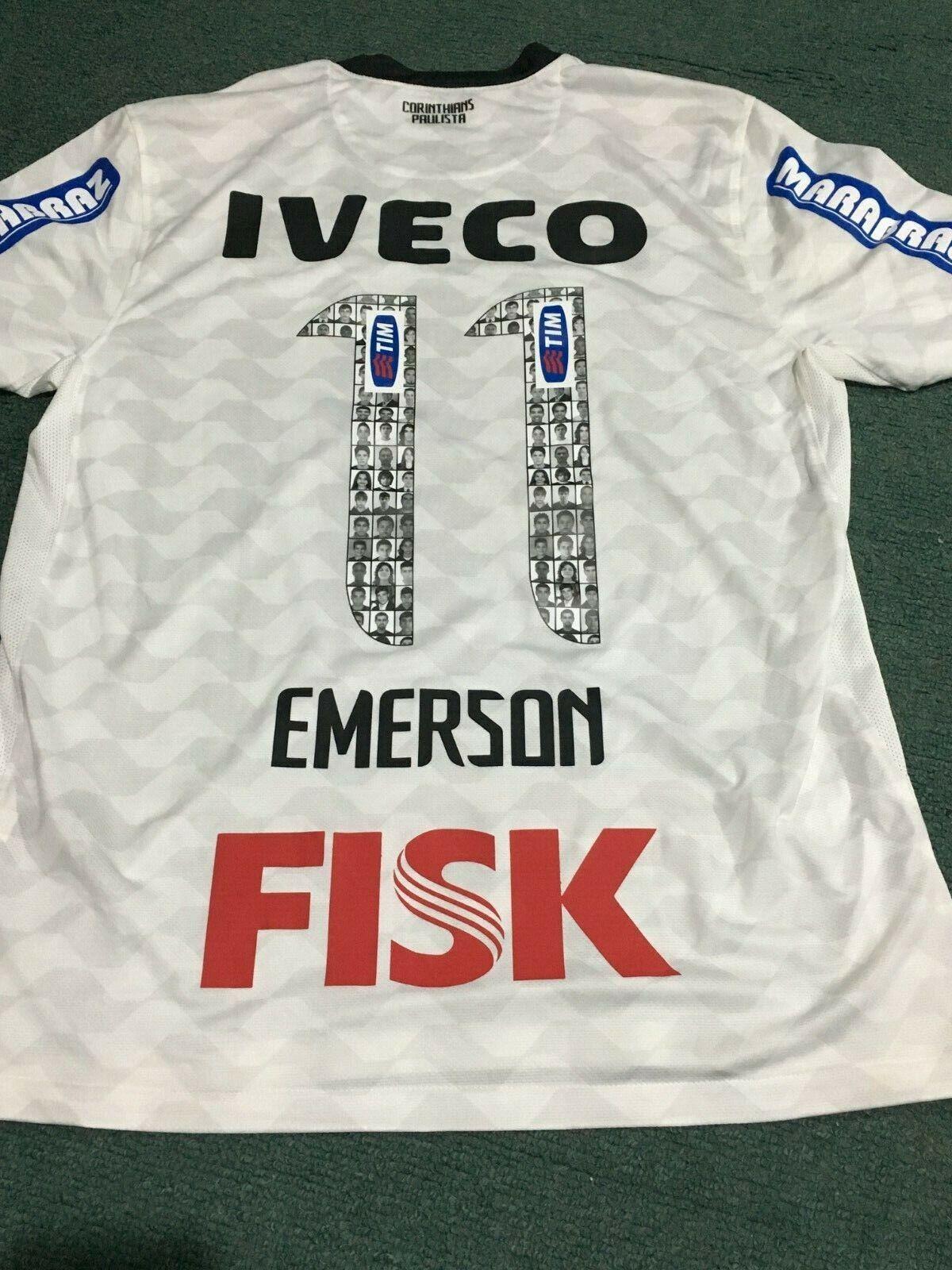 Corinthians 2011 jugadores coincide con Jersey Emerson Copa Libertadores