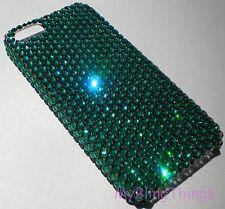 EMERALD Crystal Rhinestone Bling Back Case for iPhone 4 4S w/ Swarovski Elements