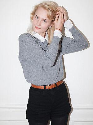 Tri-Blend Light Weight Raglan Pullover by American Apparel