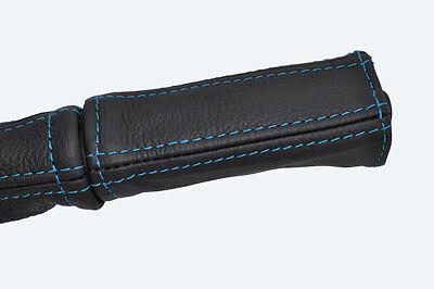 Blue stitch FITS FORD Capri Mk1 Mk2 Mk3 68-87 cuir frein à main poignée couverture