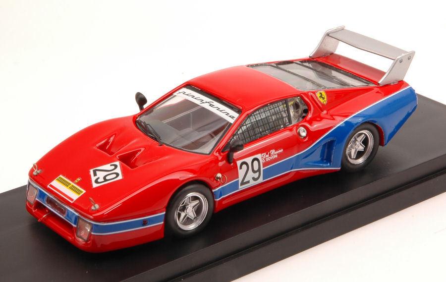 Ferrari 512 Bb Lm th 6 6 6 H Mugello 1981 G. Del Buono   O. Govoni 1 43 Model 8b73c4