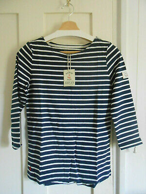Tagged Various Sizes BNWT Gorgeous Ladies Joules Floral Harbour Print Top